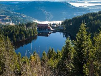 Der Mummelsee im nördlichen Schwarzwald