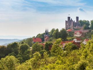 Burg Hanstein in Nordthüringen Eichsfeld